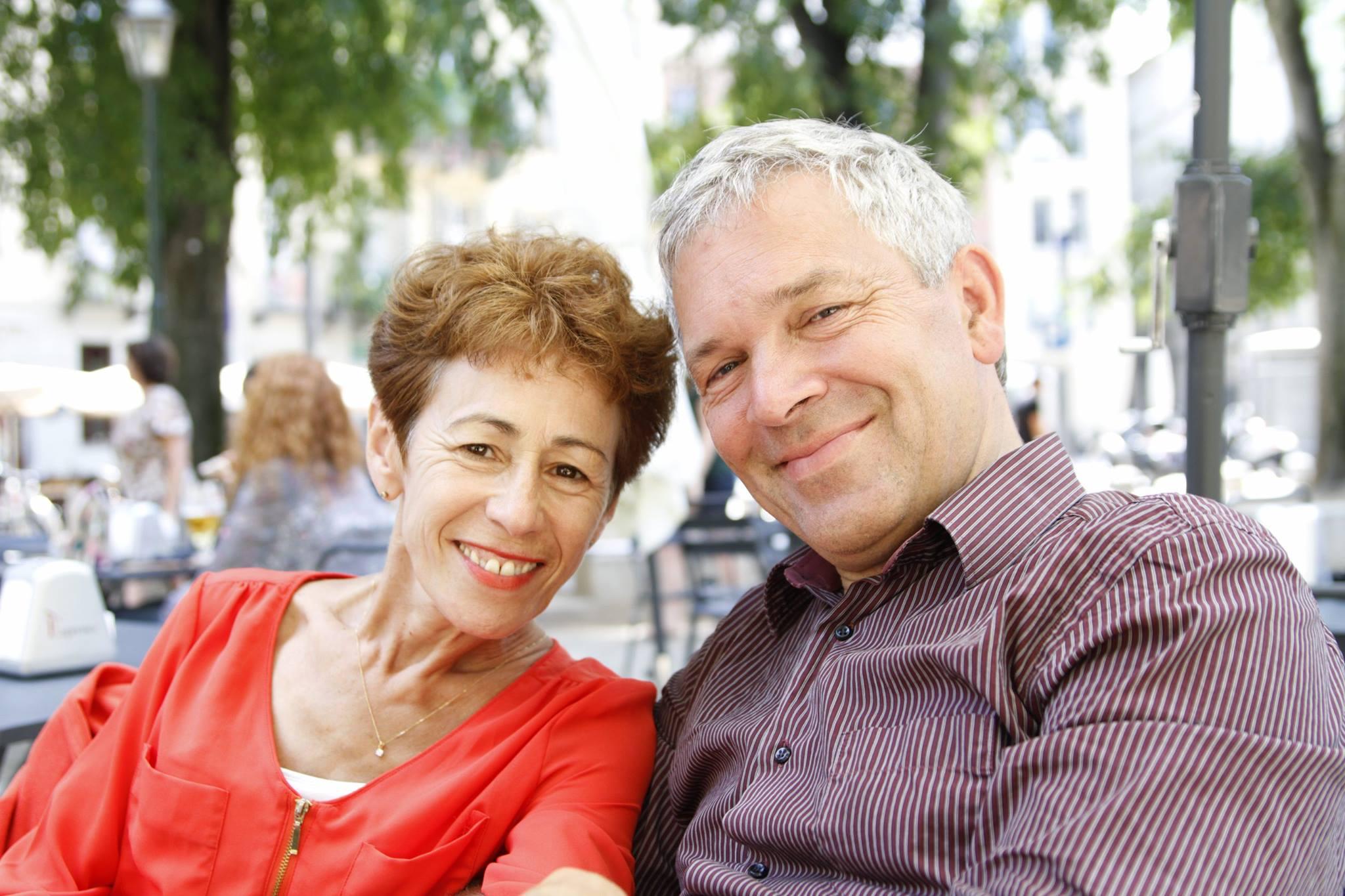Stuart et Amel Radley